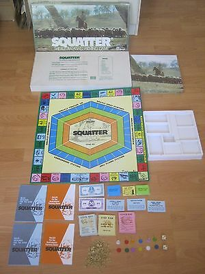 Squatter Board Game - The Great Australasian Farming Game - 1961 Game - Complete