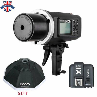 Godox AD600BM 600W HSS 1/8000s Flash Light +X1T-C trigger for Canon+95cm softbox