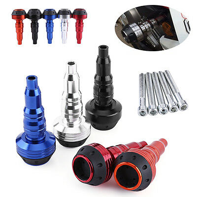 Motorcycle CNC Exhaust Frame Slider Falling Protector Anti Crash Caps New STOG