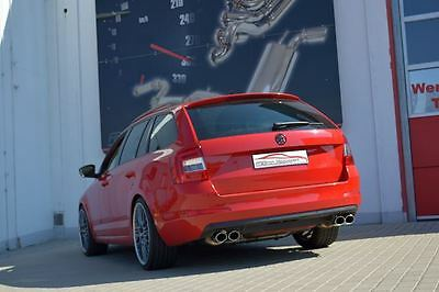 NIL 3in Duplex sports exhaust Skoda Octavia 5E from yr 13 Soda & Estate 4-wheel