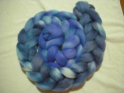 Merino tops roving hand dyed 200gm