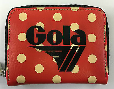 Portafoglio GOLA originale  DAVIS SMALL POLKA ZCUB 745 red/cream/ black