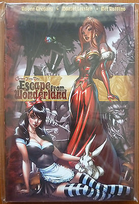 Escape From Wonderland..zenescope 2010 1St Print Hardback..grimm Fairy Tales..ex