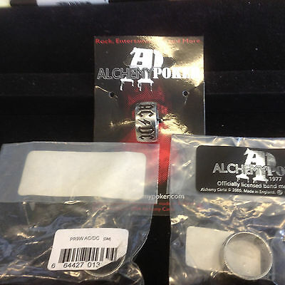Alchemy OFFICIAL AC DC AC/DC Pewter Ring PR9T new