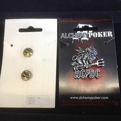 Alchemy OFFICIAL AC DC AC/DC Pin Badge PP226 Pewter New