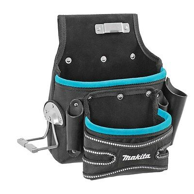 Makita P-71788 Blue Collection Roofers Fixing Hand Tool Hammer Pouch Belt Holder