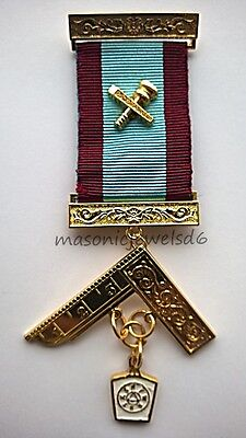masonic regalia-MASONIC JEWELS-MARK PAST MASTER (WM) BREAST JEWEL ( NEW)