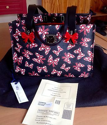 Dooney And Bourke Minnie Mouse Bows Limited Edition Bag Purse