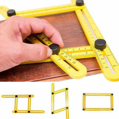 Multi-Angle Ruler Template Tool Ultimate Tile Flooring DIY Measuring Tool rulers