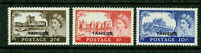 Great Britain (Tangier) -1955- Castles - Vf**