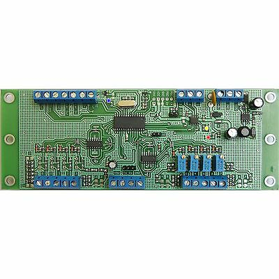 STR2ME1 RS-485 Serial controller board 64 I/O 8 Analog 5V 12V Relays USB channel