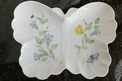LENOX BUTTERFLY MEADOW Hors D'oeuvre Plate in the shape of a Butterfly Platter