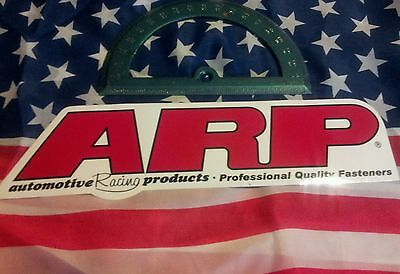 ARP sticker. NHRA Nascar Speed shop garage advertising mancave