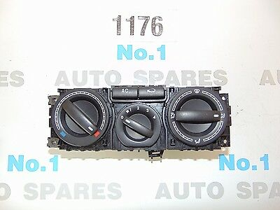 Volkswagen Vw Transporter T5 Climate A/c Heater Control Switch Unit / 03 -09