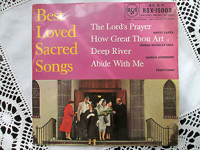 Best Loved Sacred Songs - Mario Lanza, Perry Como, George Beverly Shea, RCA 1958