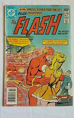 The Flash #302 Firestorm Back-Up Plus Double Page Pin-Up G.A. Flash Kid Flash DC