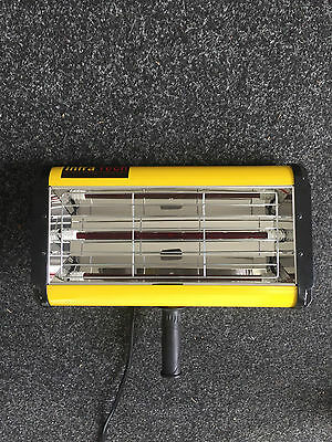 InfraTech 1KW Hand Held Infrared Paint Dryer Curing 240V Short Wave Lamp Repairs