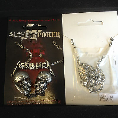 Alchemy Metallica Necklace Pendant PP255 New Pewter