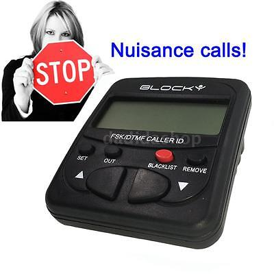 CT-CID802 Caller ID Box Telephone Call Blocker Stop Nuisance Cold Calls AU O2N1