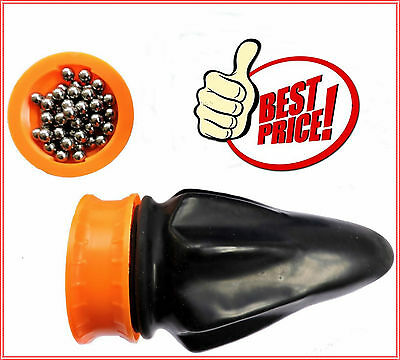 POCKET POWER SHOT Slingshot Catapult + 15 BB Balls 0.6mm