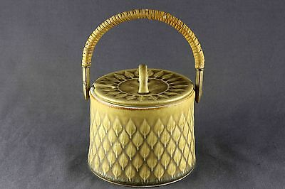 Rare Vintage  Quistgaard Relief B&g Kronjyden Jam Jar With Lid, 3 Available