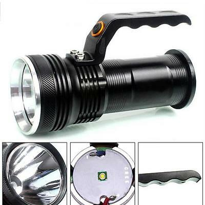 3-mode 8000LM Handheld CREE XM-L Rechargeable LED 18650 Flashlight Torch Lamp AE