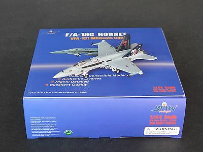VFA-131 Wildcats CAG F/A-18C Hornet Witty Wings 1:144 Diecast Models  W144-04001