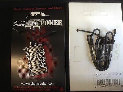 Alchemy Slipknot Necklace Pendant PP264 New Pewter Barcode