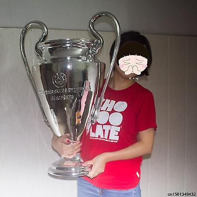 CHAMPIONS LEAGUE Trofeo copa Uefa TROPHY orejona 1:1 ALL SIZES MADRID