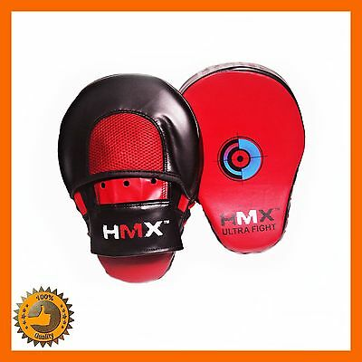 Curved Focus Pad Sets Mma Training Mitts Hook Jab Kick Boxing Sparring Target