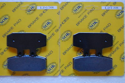 fits Scarabeo 500, 03-12 Scarabeo 500 ABS FRONT BRAKE PADS APRILIA