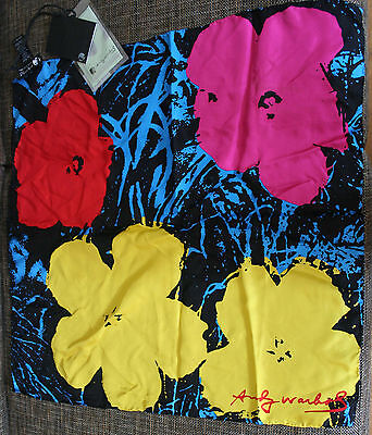 Andy Warhol (Foundation), Halstuch, by Pepe Jeans London, Original, 100 % Seide