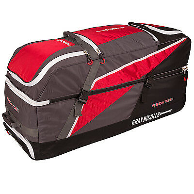 New Ex Display Gray Nicolls Predator 3 1500 Wheelie Holdall Cricket Bag