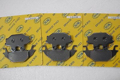Front&rear Brake Pads Can-Am Ds 250, 2007-2014 Ds250