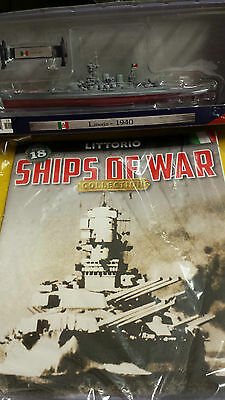 Ships Of War Collection, = Issue =18, =Littorio, =Mag + Model ( 1: 1000 )
