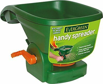 EverGreen Handy SpreaderFor even application of granular lawn care/grass seed