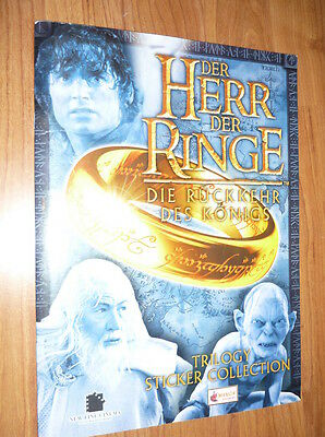 Lord Of The Rings Trilogy Complete Stickers Album Merlin