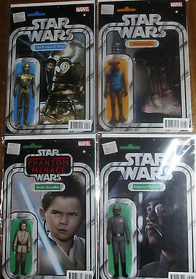 Star Wars / Vader - Christopher Action Figure Variant Job Lot - Marvel Comics