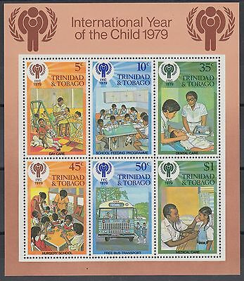 XG-AE635 TRINIDAD & TOBAGO IND - Intl. Year Of The Child, 1979 Care MNH Sheet