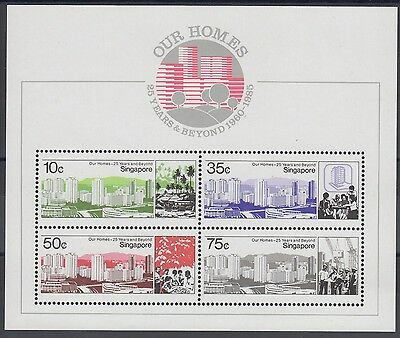 XG-AE708 SINGAPORE IND - History, 1985 25 Years And Beyond MNH Sheet