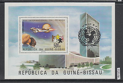 XG-AI577 GUINEA-BISSAU - Space, 1978 Intl. Year Of The Child MNH Sheet