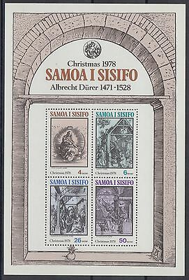 XG-AE793 SAMOA I SISIFO - Paintings, 1978 Durer Engravings MNH Sheet