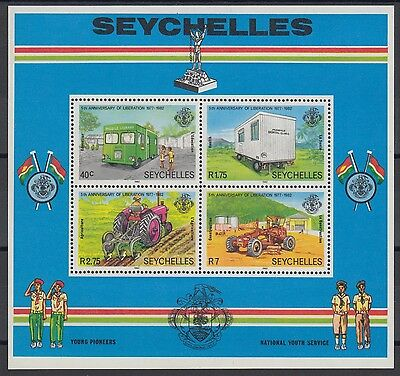 XG-AE597 SEYCHELLES IND - Agriculture, 1982 Liberation Anniversary MNH Sheet