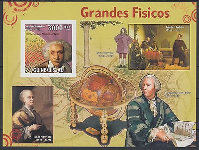XG-AF055 GUINEA-BISSAU - Science, 2009 Physicians, 1 Value Imperf. MNH Sheet