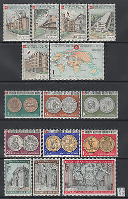 XG-Q095 SMOM/VATICAN CITY - Year Set, 1970 Coins, Complete As Per Scan MNH