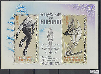 XG-AG591 BURUNDI - Olympic Games, 1964 Winter, Innsbruck '64 MNH Sheet