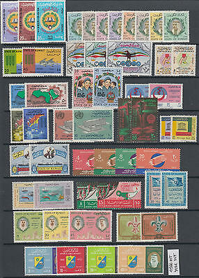 XG-AK773 KUWAIT IND - Year Set, 1966 Complete As Per Scan MNH