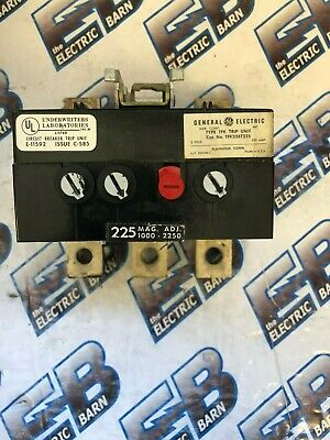 Ge Tfk236T225, 225 Amp Trip Unit- Tested, Warranty