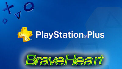 Ps Plus 28 Days Trail - Ps4 - Ps3 - Ps Vita (No Code)