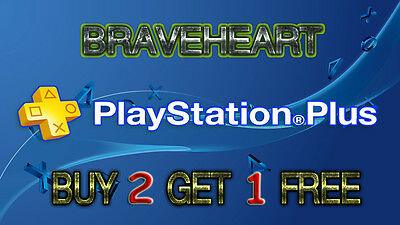 Playstation Plus 14 Days Trail - Ps4 - Ps3 - Ps Vita (No Code)